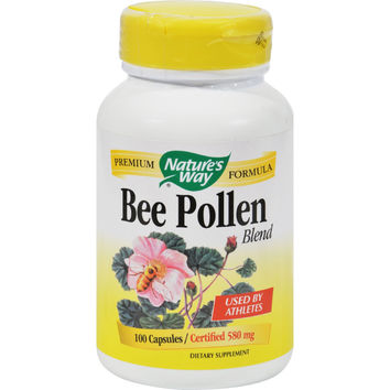 Nature`s Way Bee Pollen Blend - 100 Capsules
