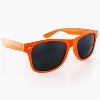 Solid Neon Wayfarer Sunglasses by Qlook