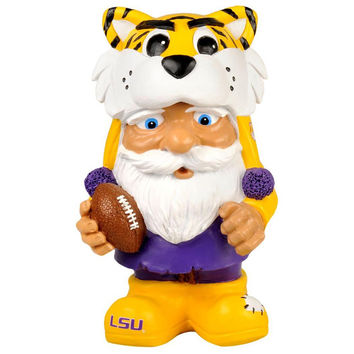 LSU Tigers NCAA Mad Hatter Gnome