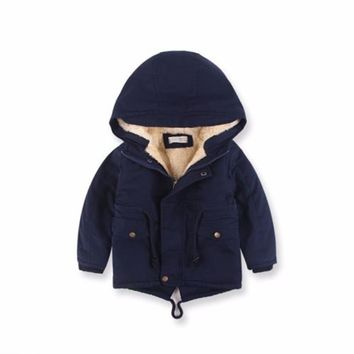 3~8 Years Winter Snowsuit Baby Down Romper Outdoor Infant Overcoat Clothes Girls Overall for Boys Onesuit Infantil Kids Jumpsuit