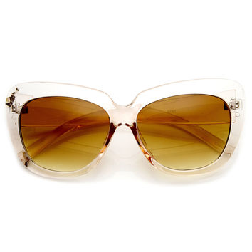 SLICK KITTY CAT EYE SUNGLASSES