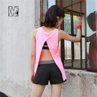 HTLD Sexy Yoga Shirts Women Vest Blouse Sport Tops Fitness Exercise Running Tops Female Sleeveless Ladies T-shirts Vest yt040