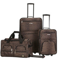 F165-LEOPARD 3 Pc Luggage Set