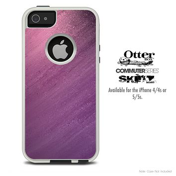 The Purple Dusty Skin For The iPhone 4-4s or 5-5s Otterbox Commuter Case