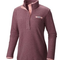 Columbia PFG Harborside Fleece Pullover for Women Available in Multiple Colors 1556262