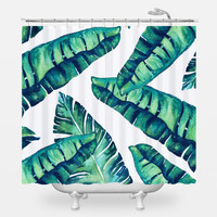 Tropical Glam Shower Curtain