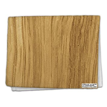 "Light Wood Look 11""x18"" Dish Fingertip Towel All Over Print by TooLoud"