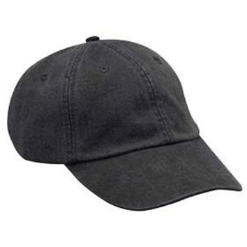 Washed Out Black Dad Hat