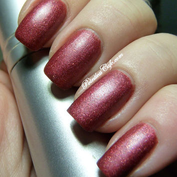 Red Carpet Matte Nail Polish from Party Time Collection