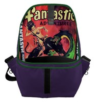 Queen of the Panther World Messenger Bag