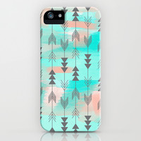 Watercolor Arrows iPhone & iPod Case by Sunkissed Laughter