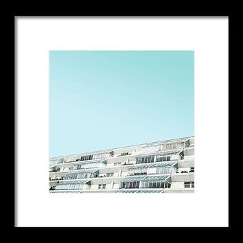 Urban Architecture - The Brunswick Centre, London, United Kingdom 3 - Framed Print