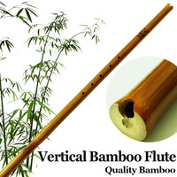 Chinese Vertical Bamboo Flute Ethnic Traditional Wood Wind Musical Instrument Bambu Flauta Beginner Xiao 6Hole Handmade F/ G
