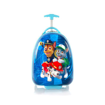 Heys Paw Patrol Designer Luggage Case [Chase  Rocky and Marshall - Blue]