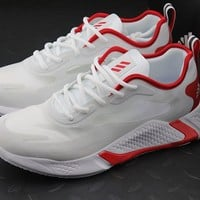 """""""Adidas"""" Alphabounce Beyond M Men Sport Running Shoes White/Red"""