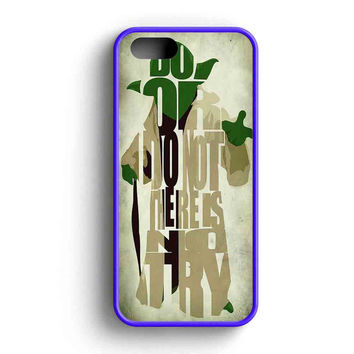 Yoda Star Wars iPhone 5 Case iPhone 5s Case iPhone 5c Case