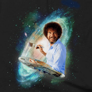 Bob Ross - Galaxy - T-shirts & Hoodies