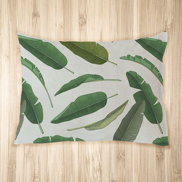 Banana Leaf Pet Bed