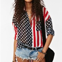 America Shirt in What's New at Nasty Gal