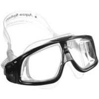 Seal Clear Mask Silver Black