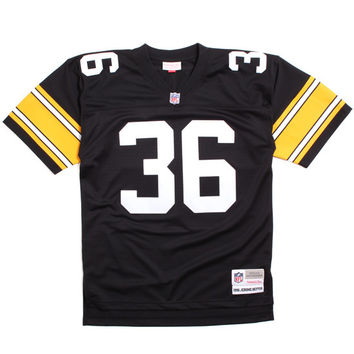 Jerome Bettis 1996 Pittsburgh Steelers Football Jersey Black / Yellow