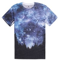 On The Byas Forest Nights Sublimated T-Shirt - Mens Tee - Blue -
