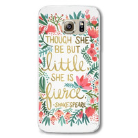 Samsung Galaxy S6 Hard Plastic Natural Scenery Pattern With Transparent Edge Case