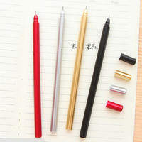 1X neutral Stationery Office Creative school Gift supplies black Refill HU