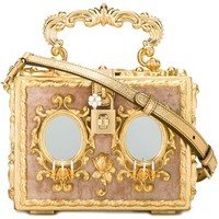 Dolce & Gabbana Baroque Box Clutch - Julian Fashion - Farfetch.com