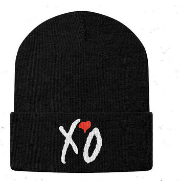 The Weeknd XO beanies