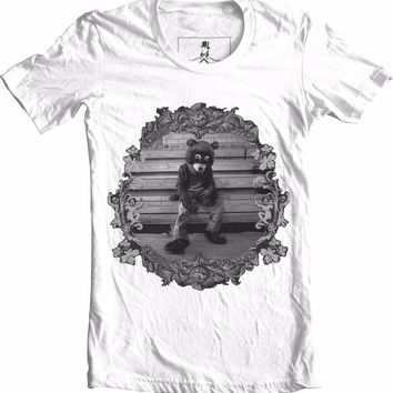 College Dropout Kanye West Bear Hip Hop Graphic Street Wear Unisex T-Shirt