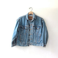 Vintage 80s LEVIS denim jean jacket