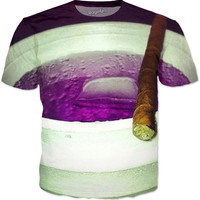 Purple Drank And Smoke Tee