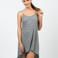 Simple Low Back Tank Dress