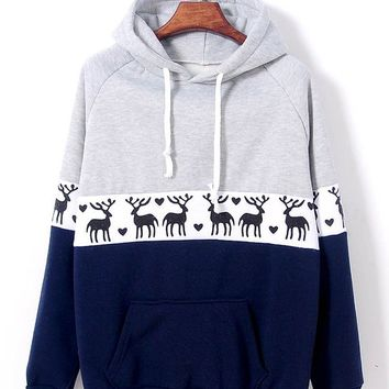 Fashion hedging long-sleeved fleece sweater XF1201F (red)