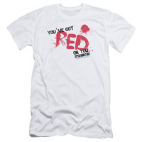 SHAUN OF THE DEAD/RED ON YOU - S/S ADULT 30/1 - WHITE -