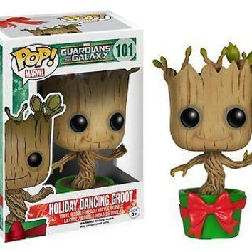 Funko Pop Marvel: GOTG - Holiday Dancing Groot Vinyl Figure