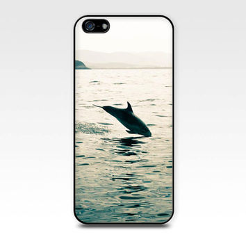 ocean photography iphone case 4 4s dolphin photography iphone 4 case 5 4s beach photography vintage coastal print marine life phone case