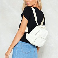 WANT Put Your Hands On Velvet Backpack