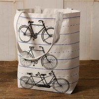 Canvas Tote - Bicycle