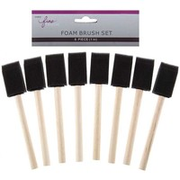 "1"" Foam Brushes 