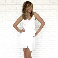 Pull It Together White Dress