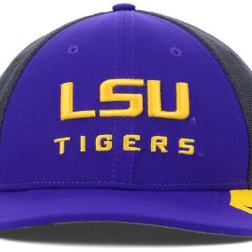 LSU Tigers Nike NCAA Conference Legacy 91 Team Color Charcoal Hat