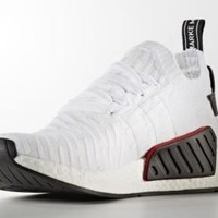 1706 adidas Originals NMD R2 Primeknit Men's Sneakers Shoes BY3015