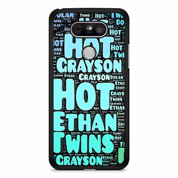Dolan Twins Word Collage 1 LG G5 Case