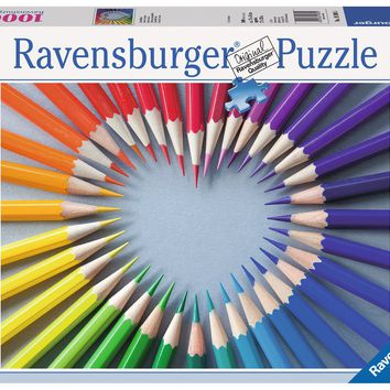 Color My Heart - 1000 Piece Jigsaw Puzzle