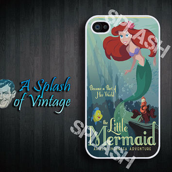 iPhone case Little Mermaid poster iPhone 4s, iPhone 4 Cover
