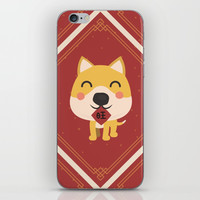 Year of the Dog iPhone Skin by lalainelim