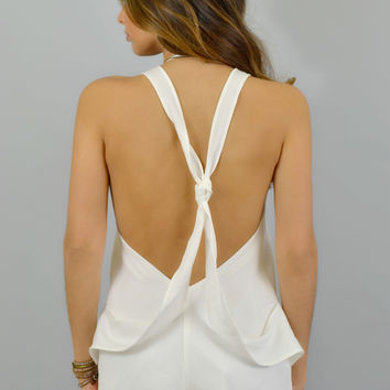 Fifth Label Playsuit in Ivory
