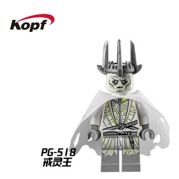 Witch-king of Angmar The Black Gate Lord of the Rings Figures King of the Dead RingWraith Buiding Blocks Children Toys PG518